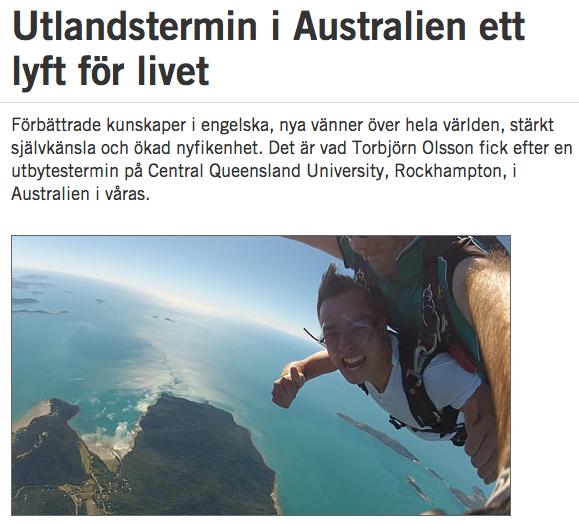 Torbjörn Olsson Högskolan i Borås Australien